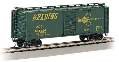 "Reading ""Bee Line"" - 40' Box Car"