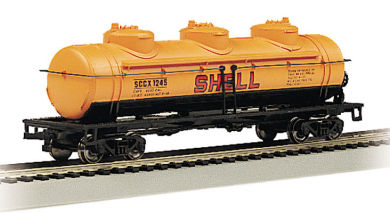 Shell - 40' Three-Dome Tank Car