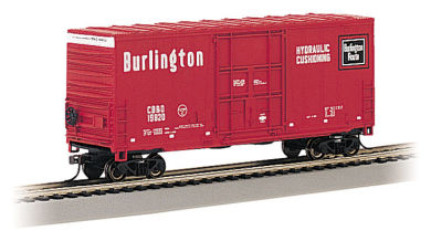 Burlington - Hi-Cube Box Car