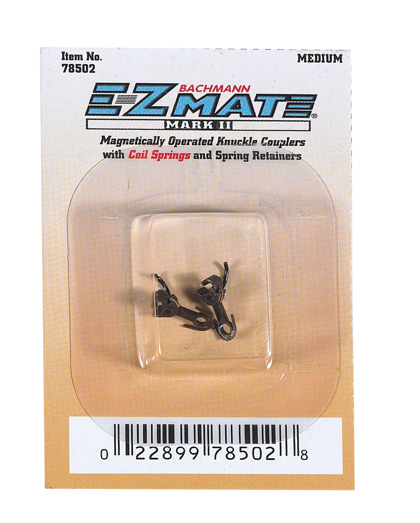 Magnetically Operated E-Z Mate Mark II Couplers -Medium