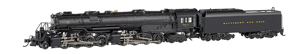 Baltimore & Ohio® #7614 (large dome)-DCC (N Scale EM-1)