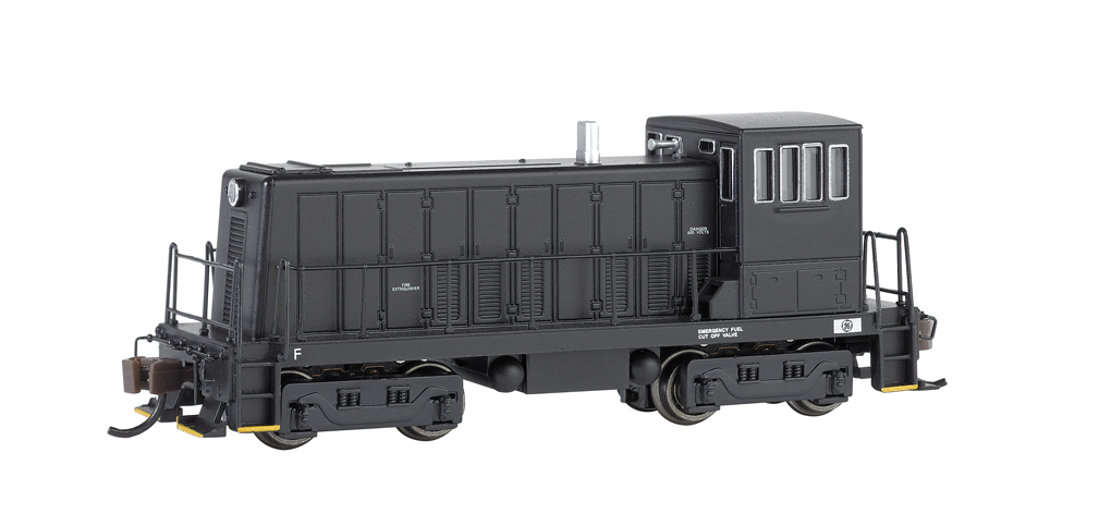 Painted, Unlettered - Black GE 70 Ton -DCC (N Scale)