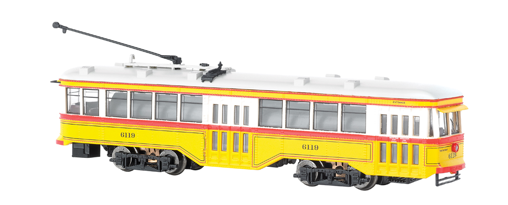 Baltimore Transit Co. - Peter Witt Streetcar - DCC
