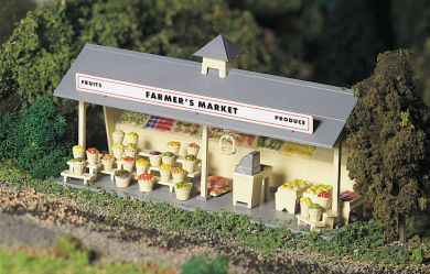 Roadside Stand (O Scale)