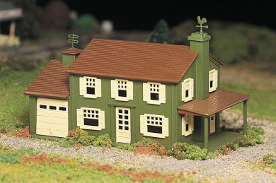Two-Story House (O Scale)