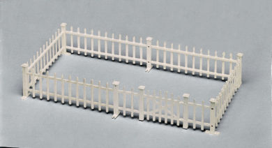 PLATFORM FENCE W/GATE (O Scale)