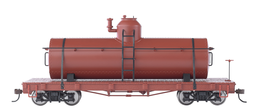 Unlettered - Oxide Red - Tank Car