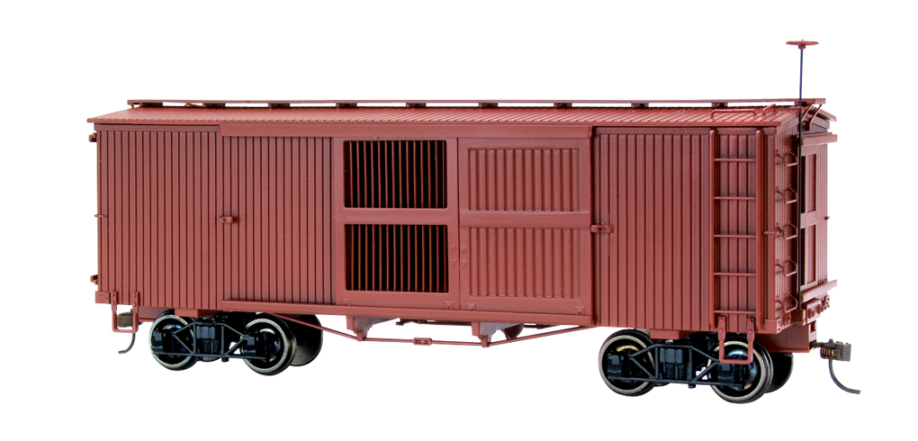 Painted, Unlettered - Ventilated Box Car