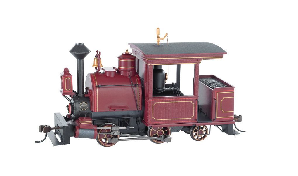 Maroon, Unlettered 0-4-2 Porter - DCC Sound