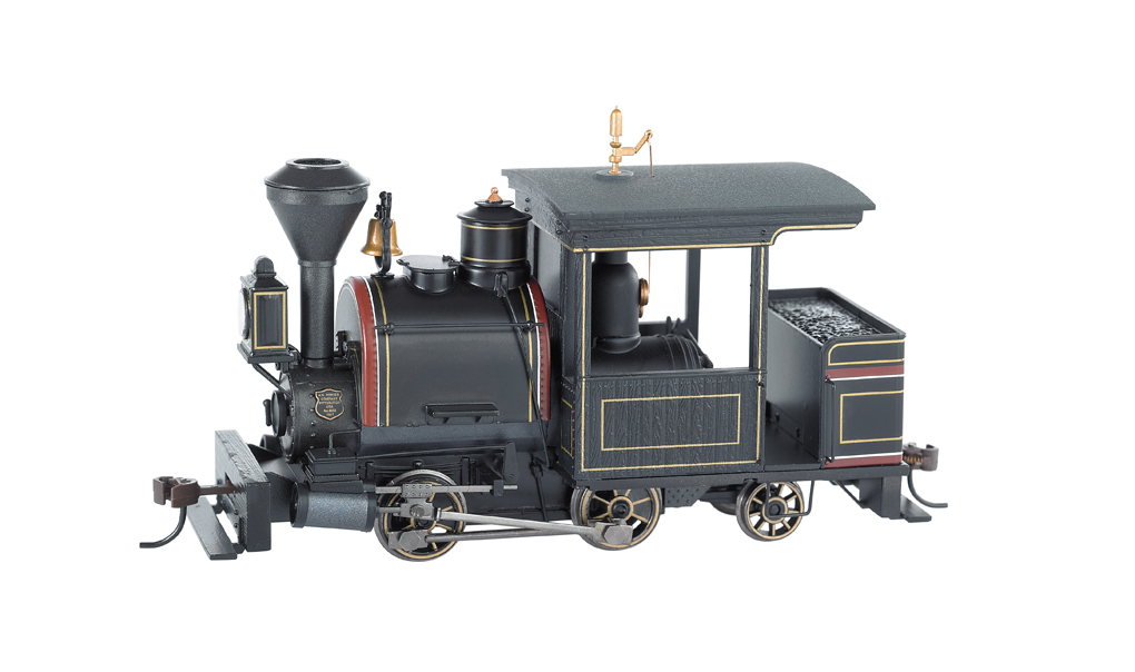 Black W/ Maroon & Gold, Unlettered 0-4-2 Porter - DCC Sound