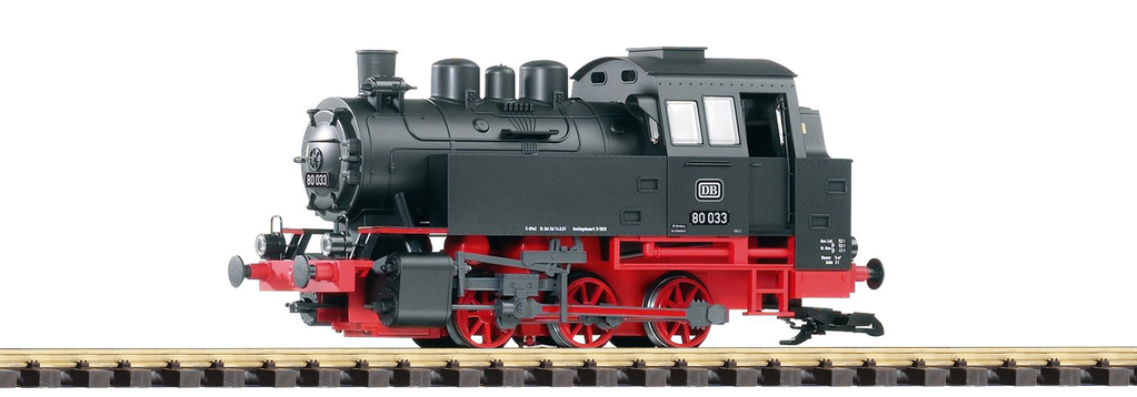 PIKO 37200 DR III BR80 Steam Locomotive