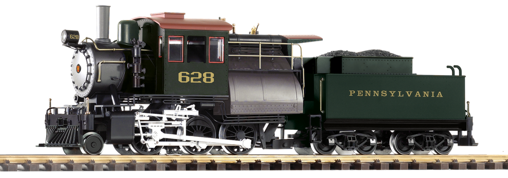 PIKO 38242 CAMELBACK PRR STEAM LOCOMOTIVE
