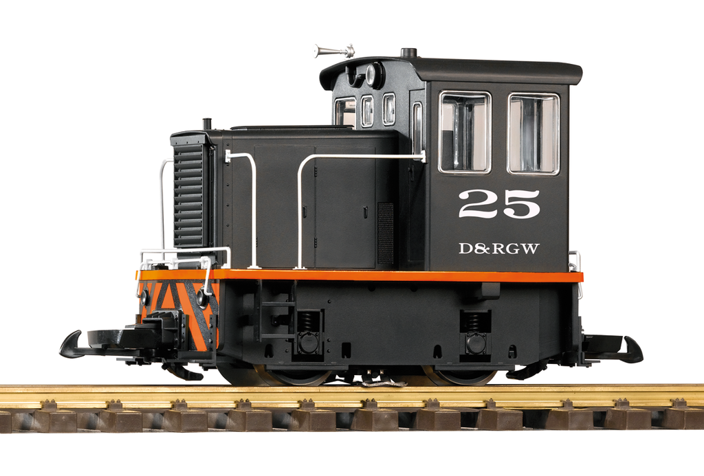 PIKO 38500 D&RGW GE 25-TON DIESEL SWITCHER LOCOMOTIVE