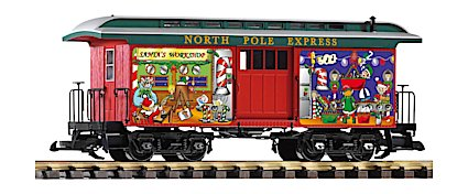 PIKO 38635 Christmas Baggage Car
