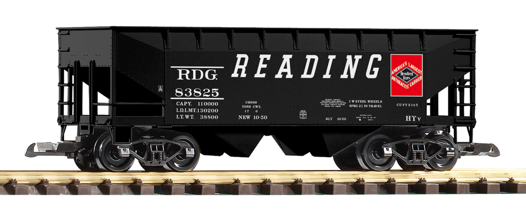 PIKO 38837 READING OFFSET-SIDE HOPPER CAR