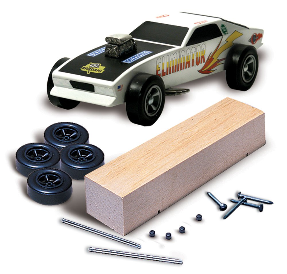 No.370 PineCar Racer® Basic Car Kit