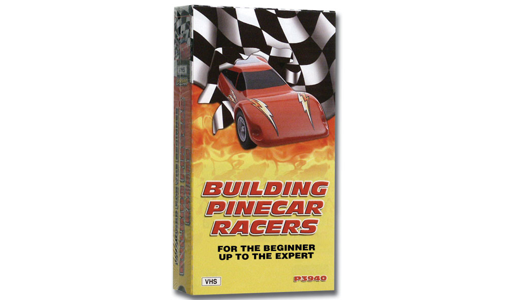 No.3940 Building PineCar Racers VHS