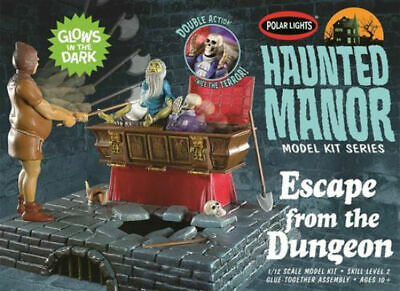 1/12 Escape from the Dungeon Polar Lights 972 Plastic Model Kit
