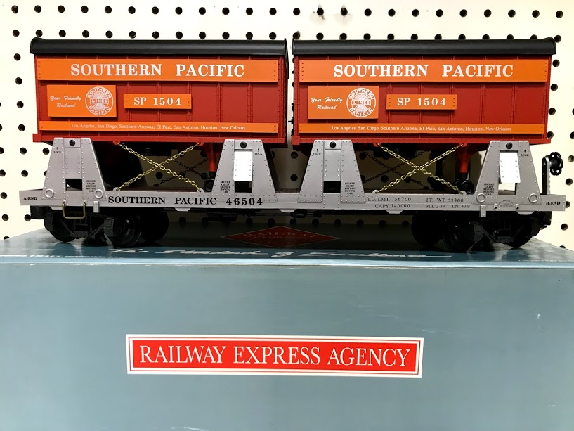 Railway Express Agency 46504 Southern Pacific Piggyback