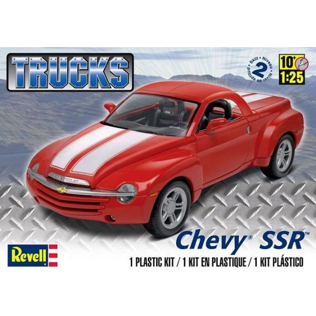 1/25 Chevy® SSR™ Plastic Model Kit