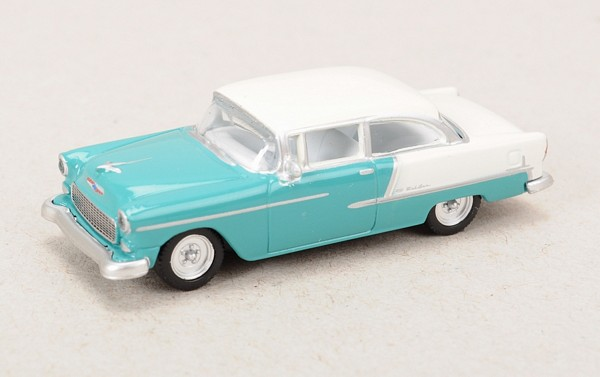 HO Blue Chevrolet Bel Air