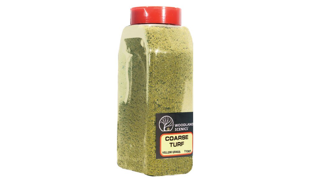 Coarse Turf Yellow Grass Shaker