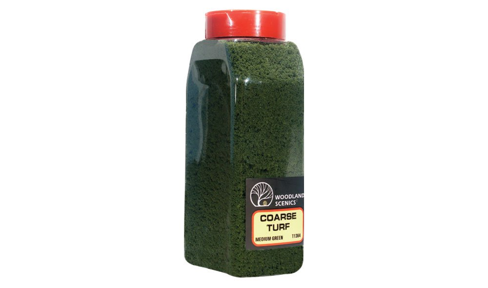 Coarse Turf Medium Green Shaker