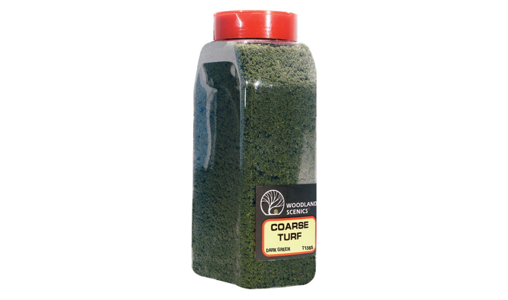 Coarse Turf Dark Green Shaker