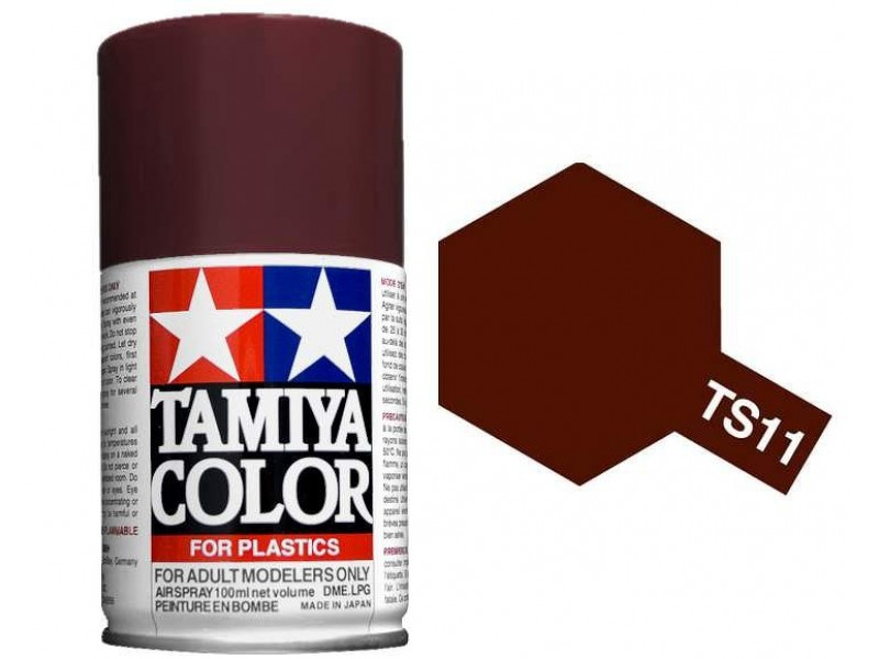 Tamiya TS-11 Maroon - 100ml Spray Can