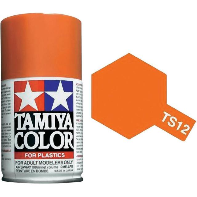 Tamiya TS-12 Orange - 100ml Spray Can