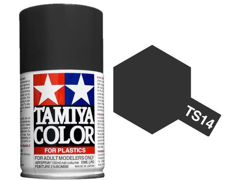Tamiya TS-14 Black - 100ml Spray Can