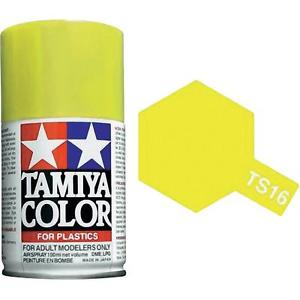 Tamiya TS-16 Yellow - 100ml Spray Can