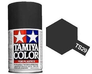 Tamiya TS-29 Semi-Gloss Black - 100ml Spray Can