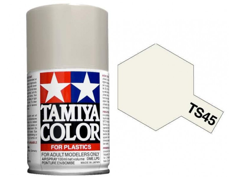 Tamiya TS-45 Pearl White - 100ml Spray Can