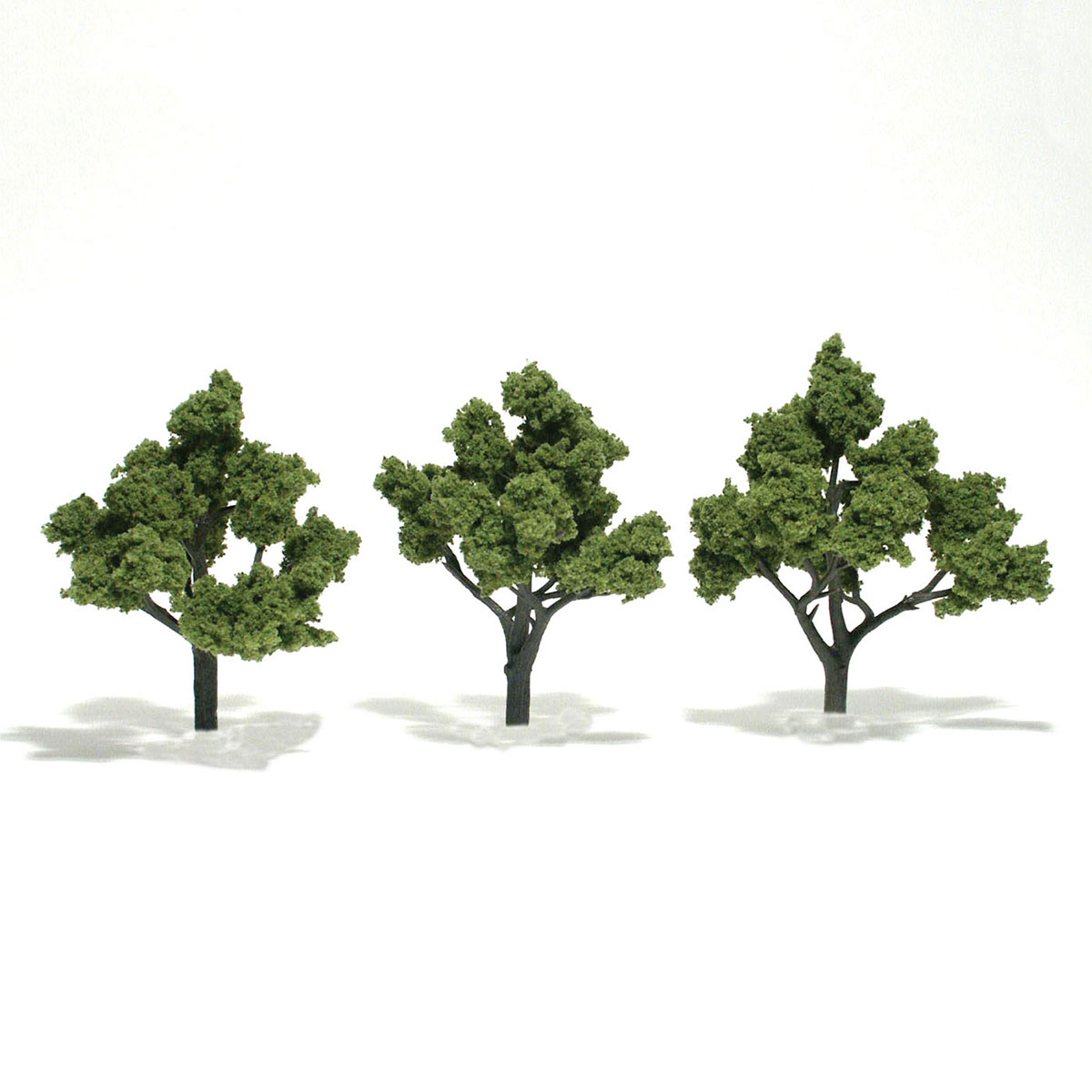 Realistic Trees Medium Green 5-6 Inch 2 Woodland Scenics TR1513 WOO