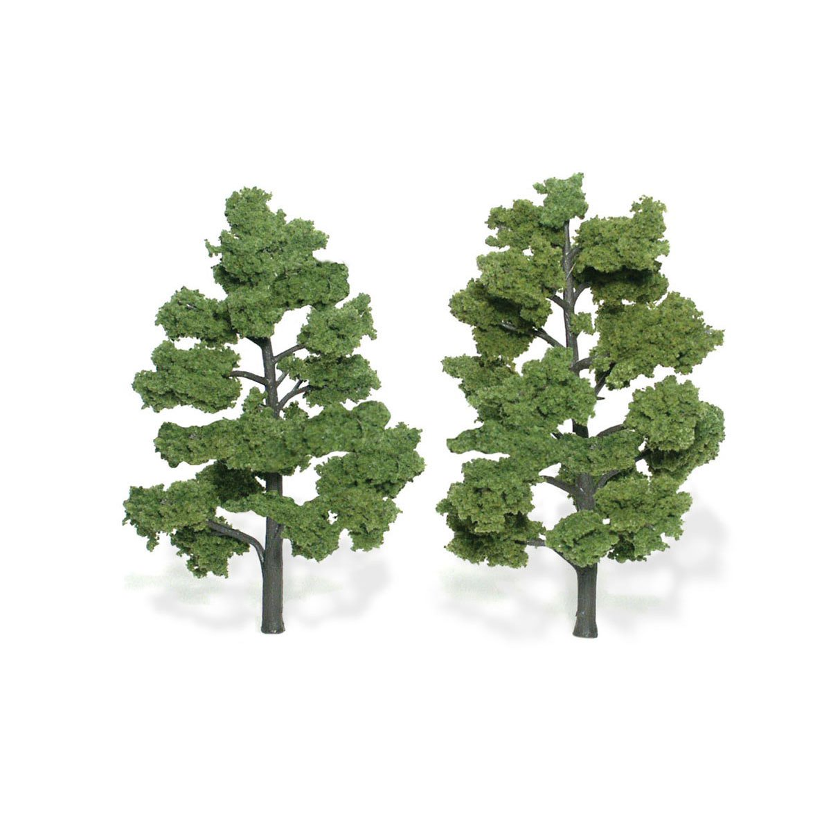 Ready Made Realistic Trees™ Light Green - 2/pkg 6-7 inches