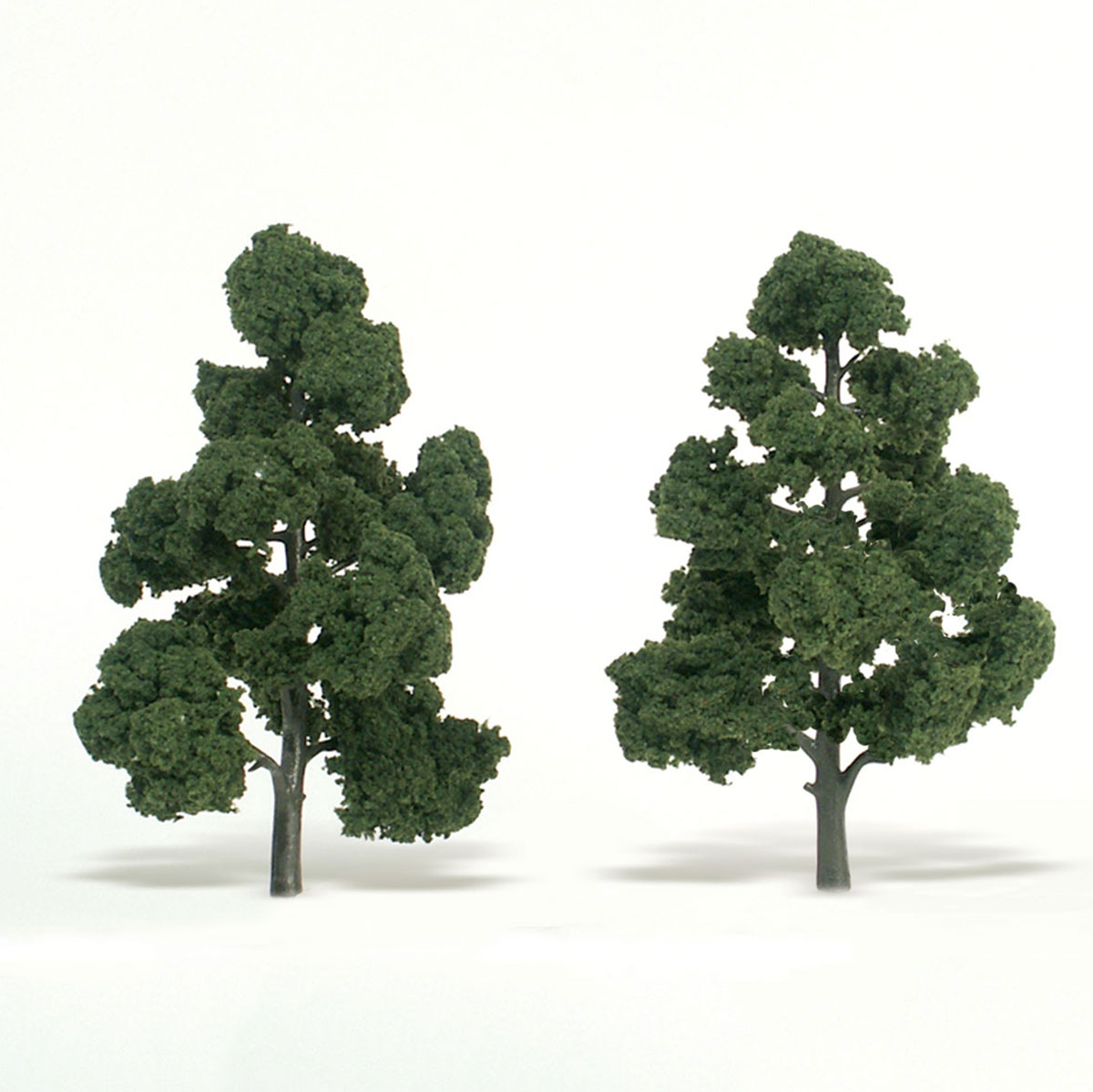 Ready Made Realistic Trees™ Medium Green - 2/pkg 7-8 inches