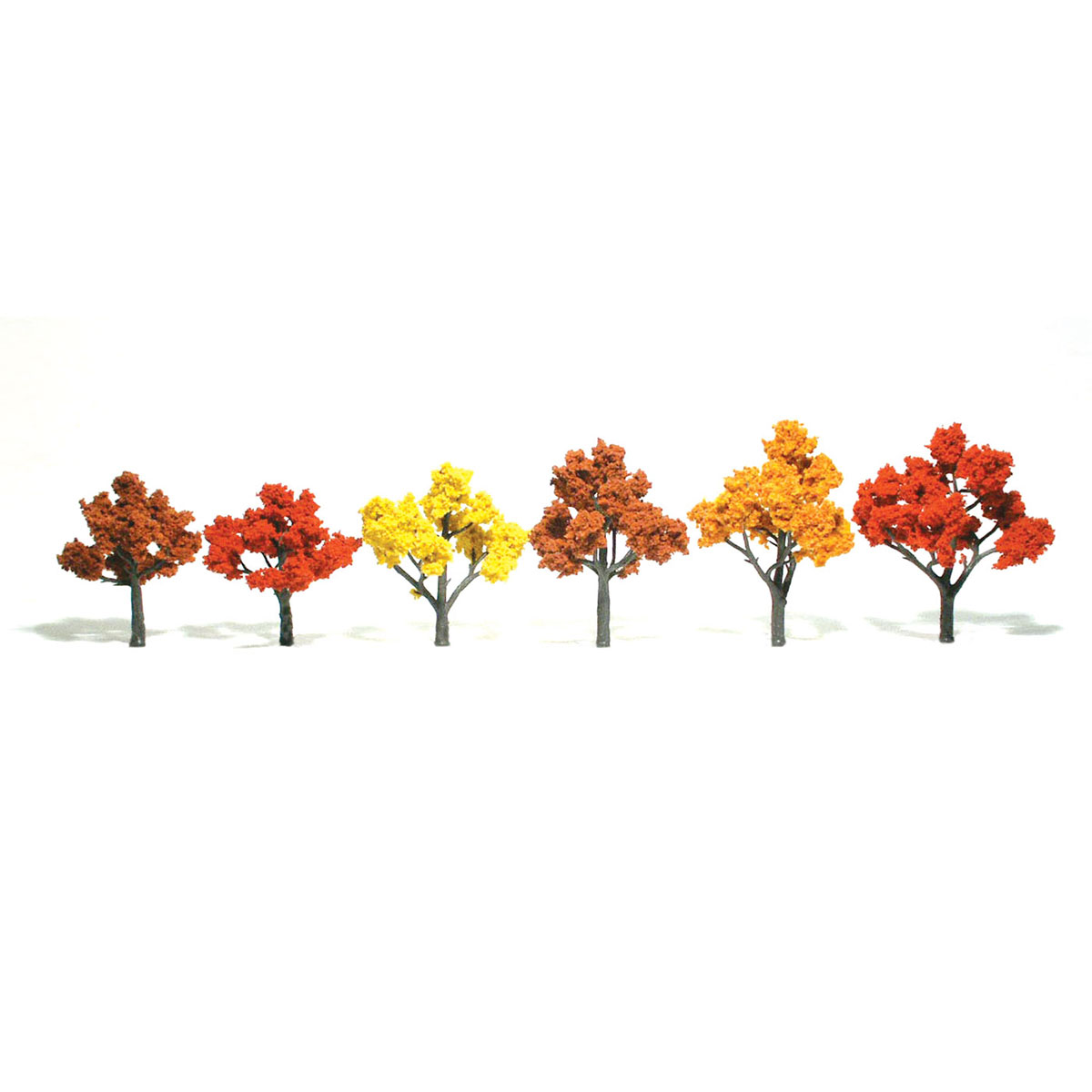 Ready Made Realistic Trees™ Fall Mix - 6/pkg 3-5 inches