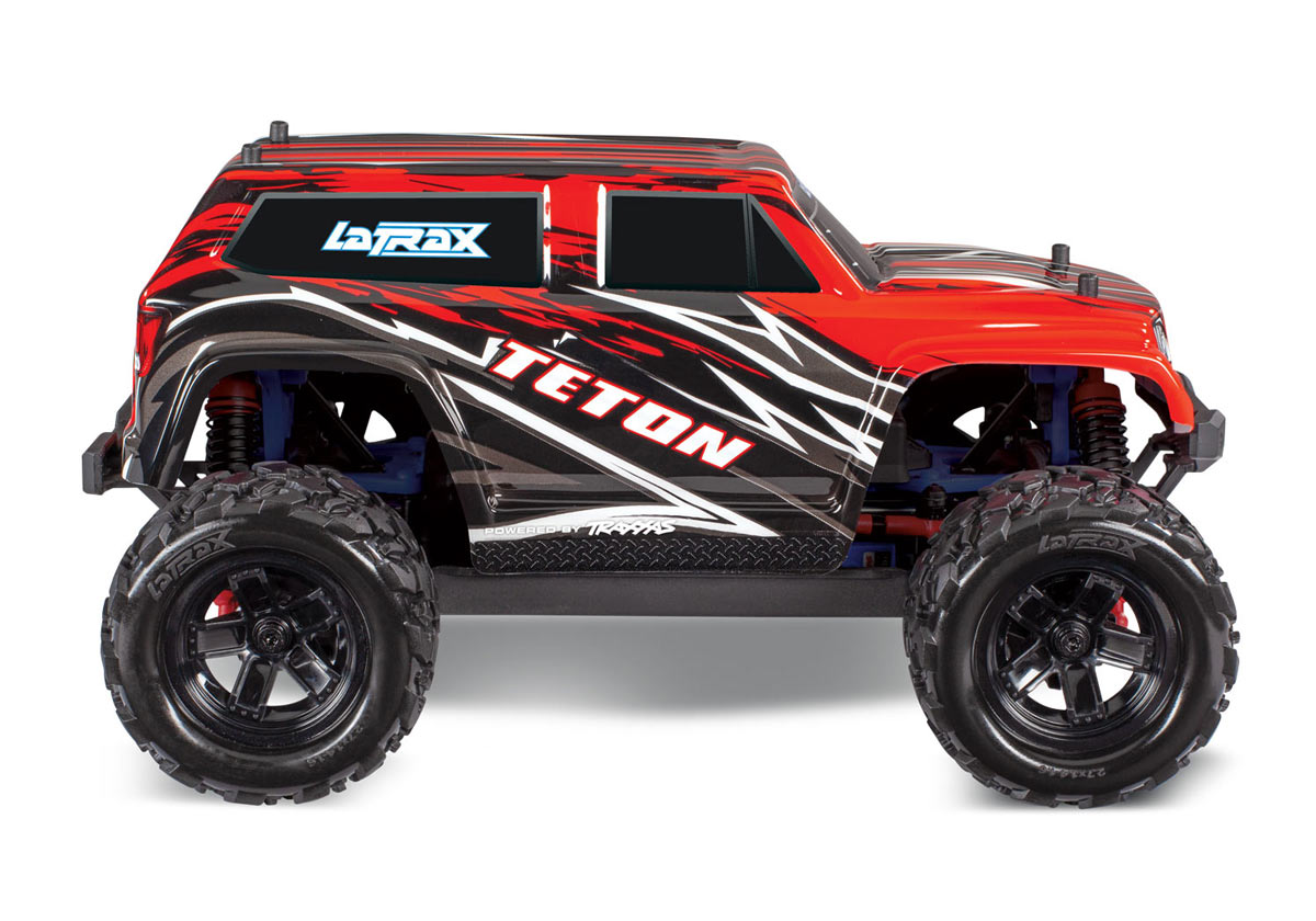 LaTrax 1/18 Scale Teton 4WD Monster Truck - Red