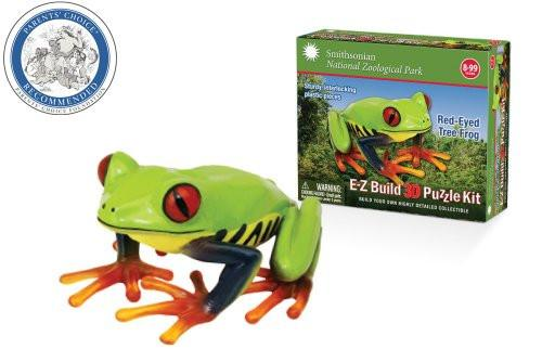 Smithsonian E-Z Build Puzzle - Tree Frog
