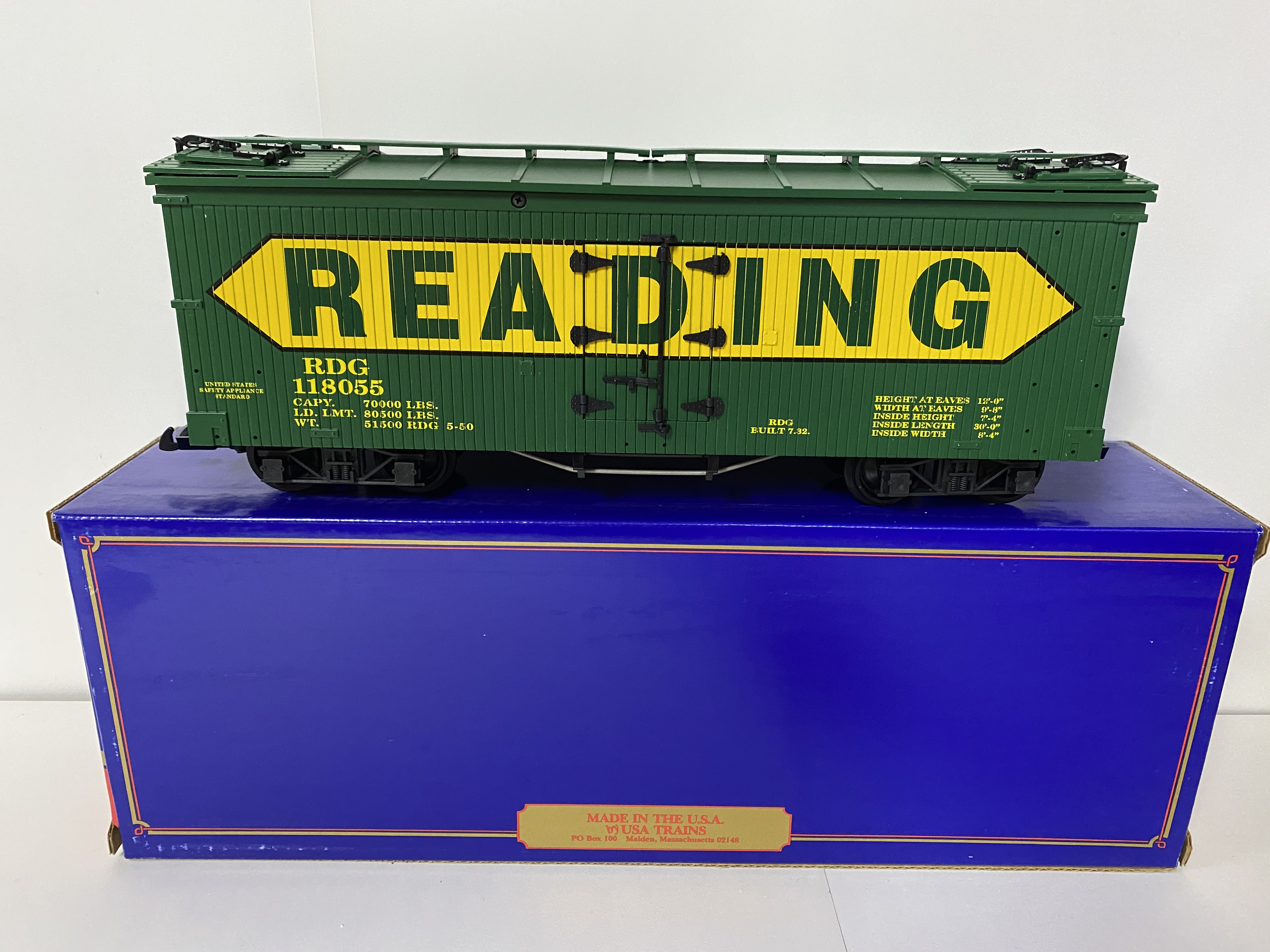 Reading Boxcar (USA Trains 118055)