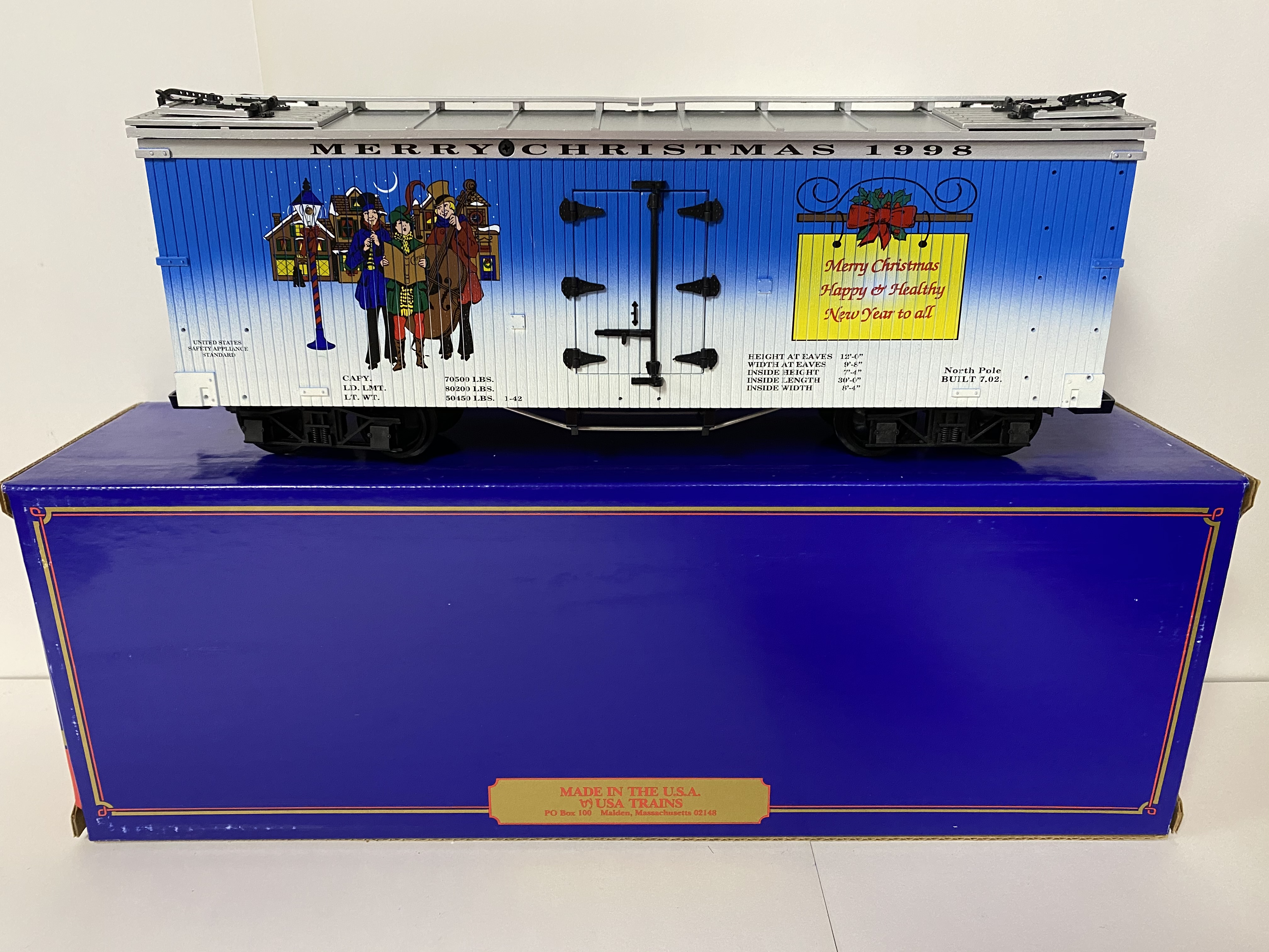 1998 Christmas Reefer (USA Trains 13016)