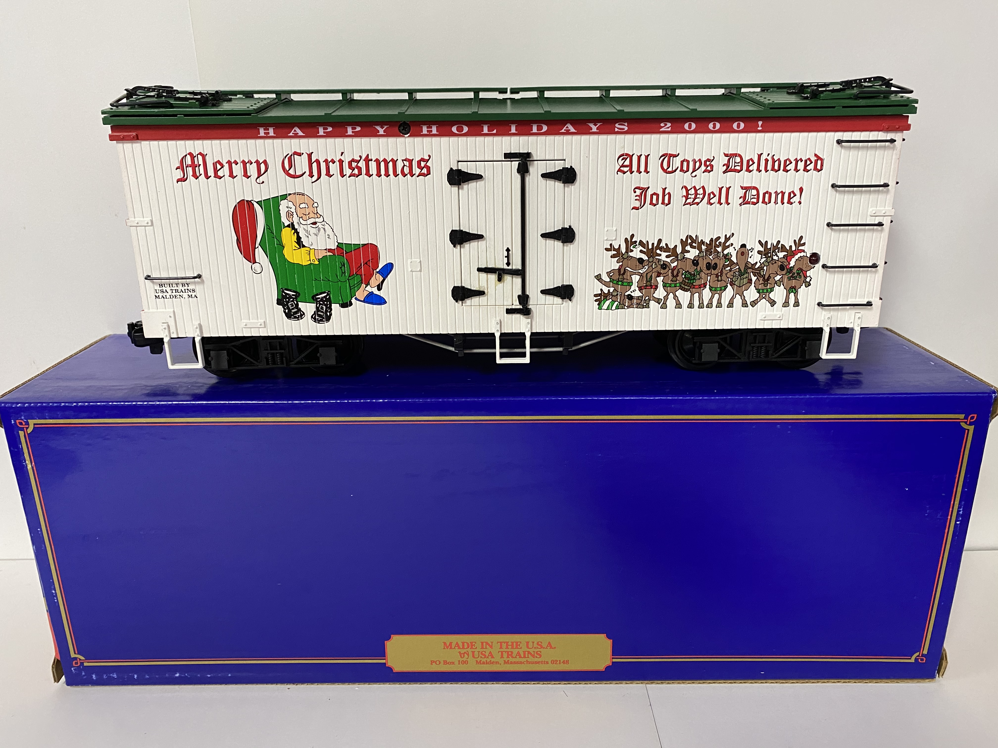 2000 Christmas Reefer (USA Trains 13018)