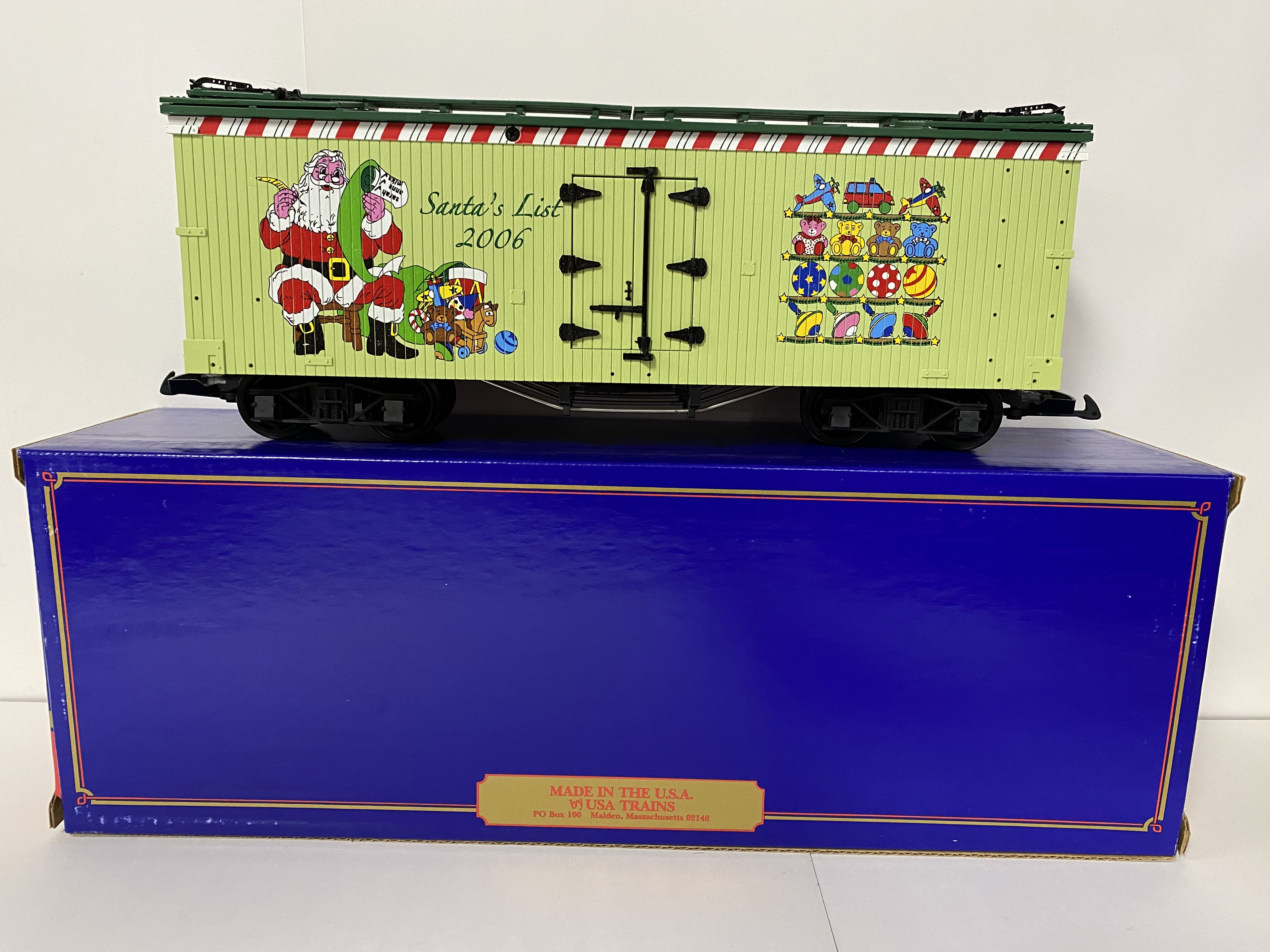 2006 Christmas Reefer (USA Trains 13024)