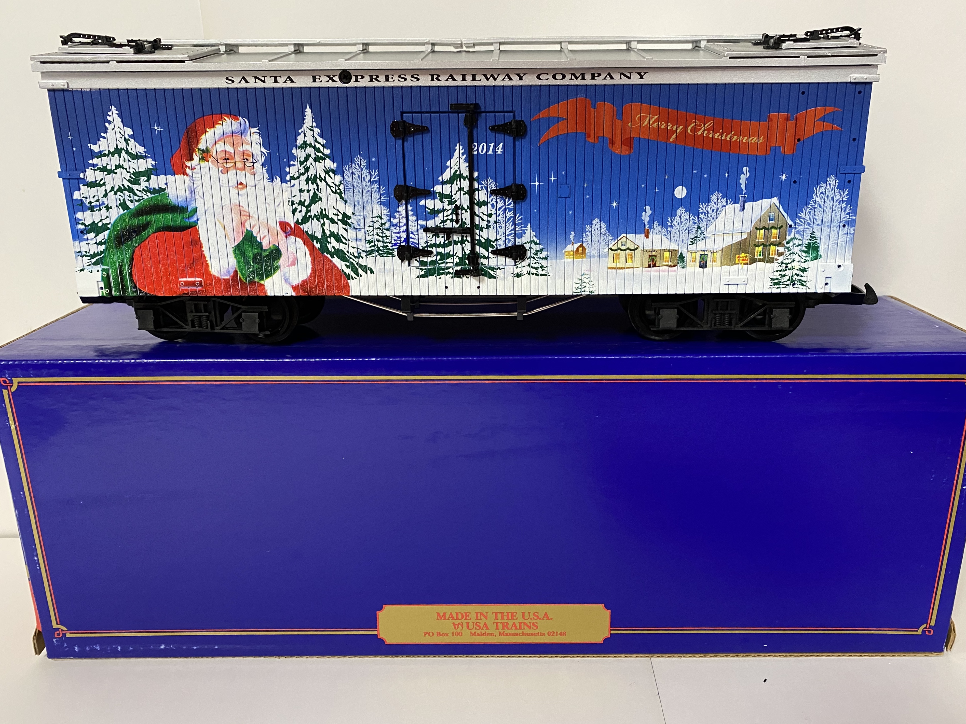 2014 Christmas Reefer (USA Trains 13032)