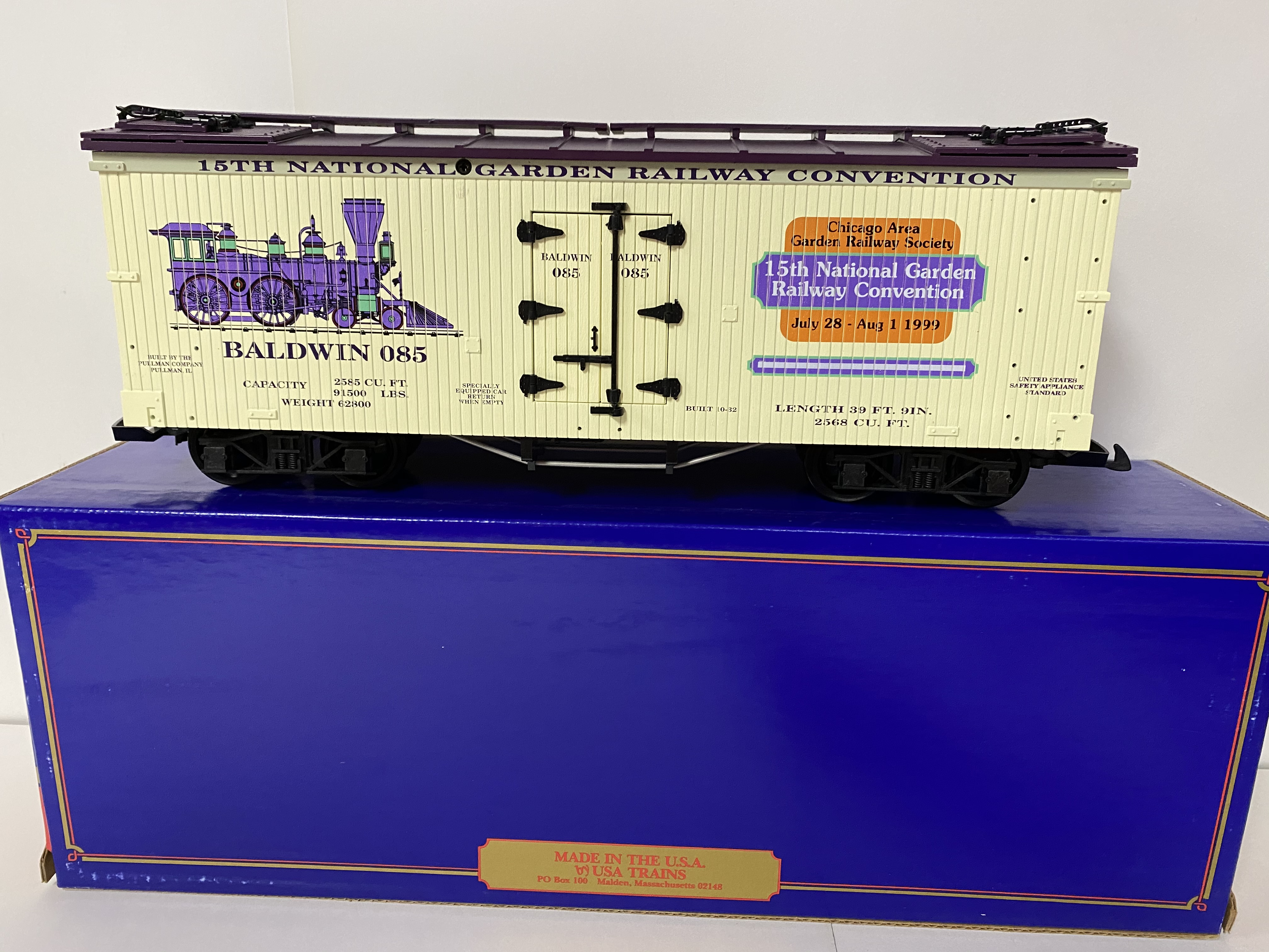15th National Garden Railway Convention Boxcar (USA Trains)