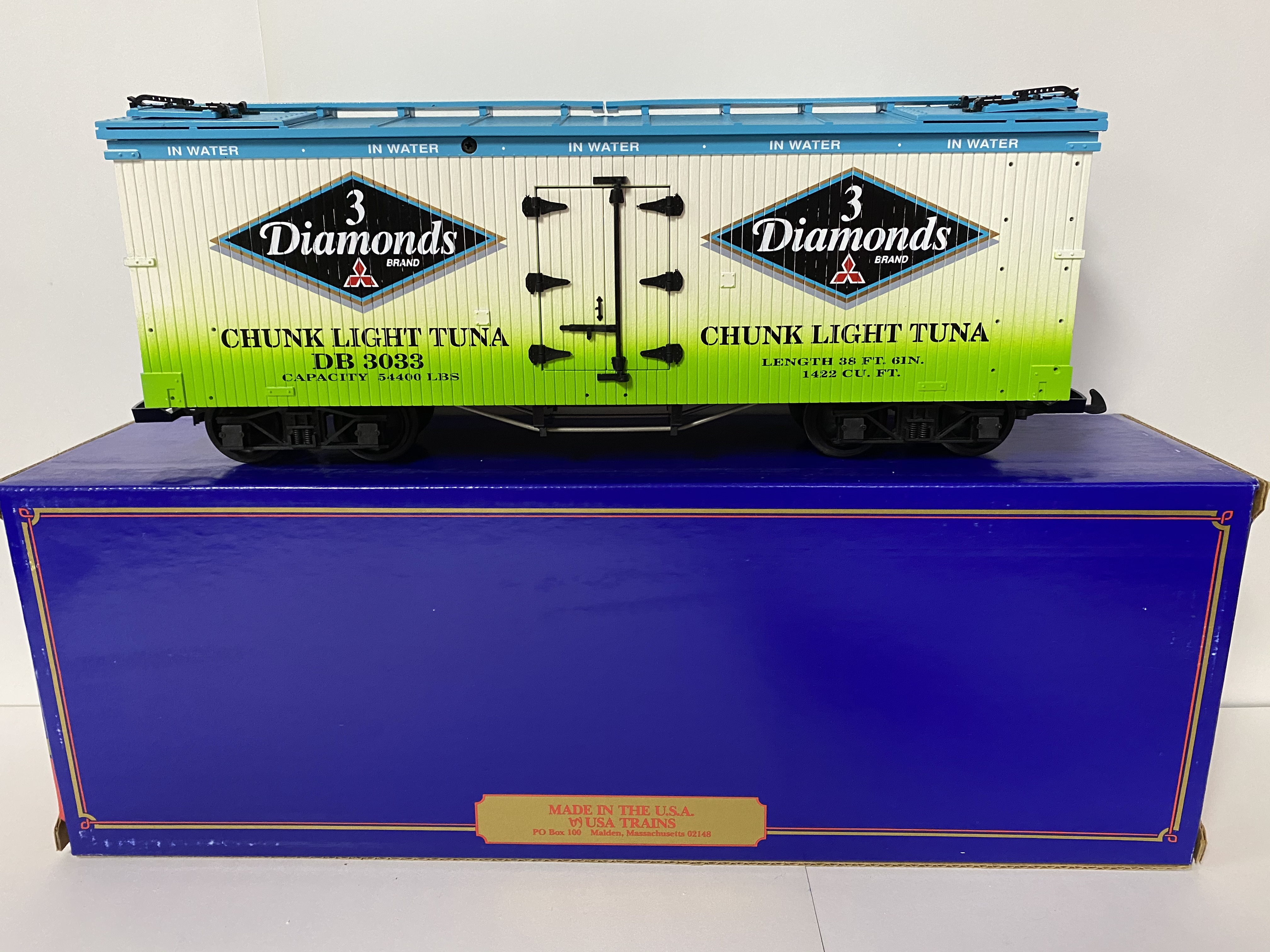 3 Diamonds Reefer (USA Trains 16006)