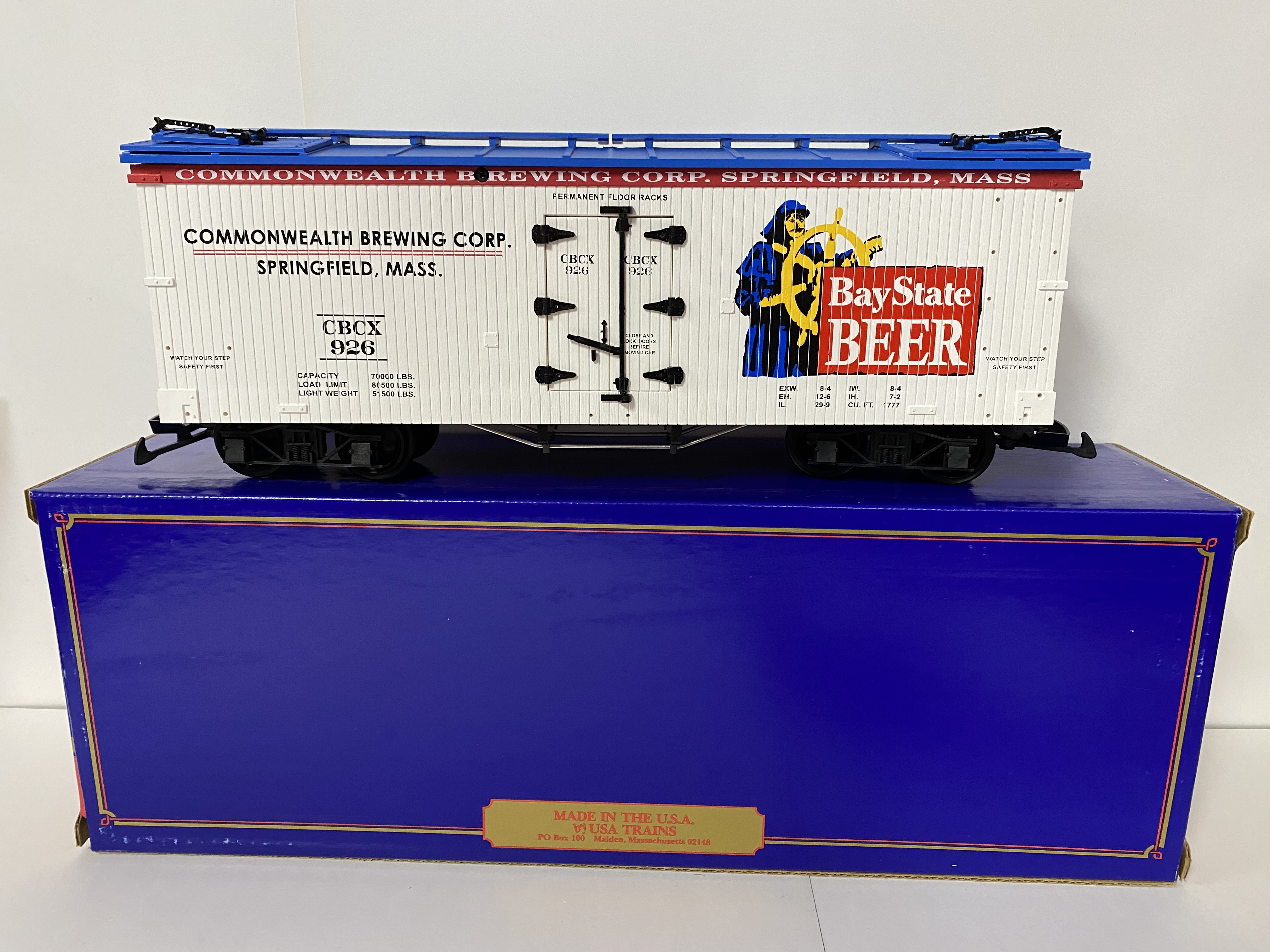 Bay State Beer Reefer (USA Trains 16376)