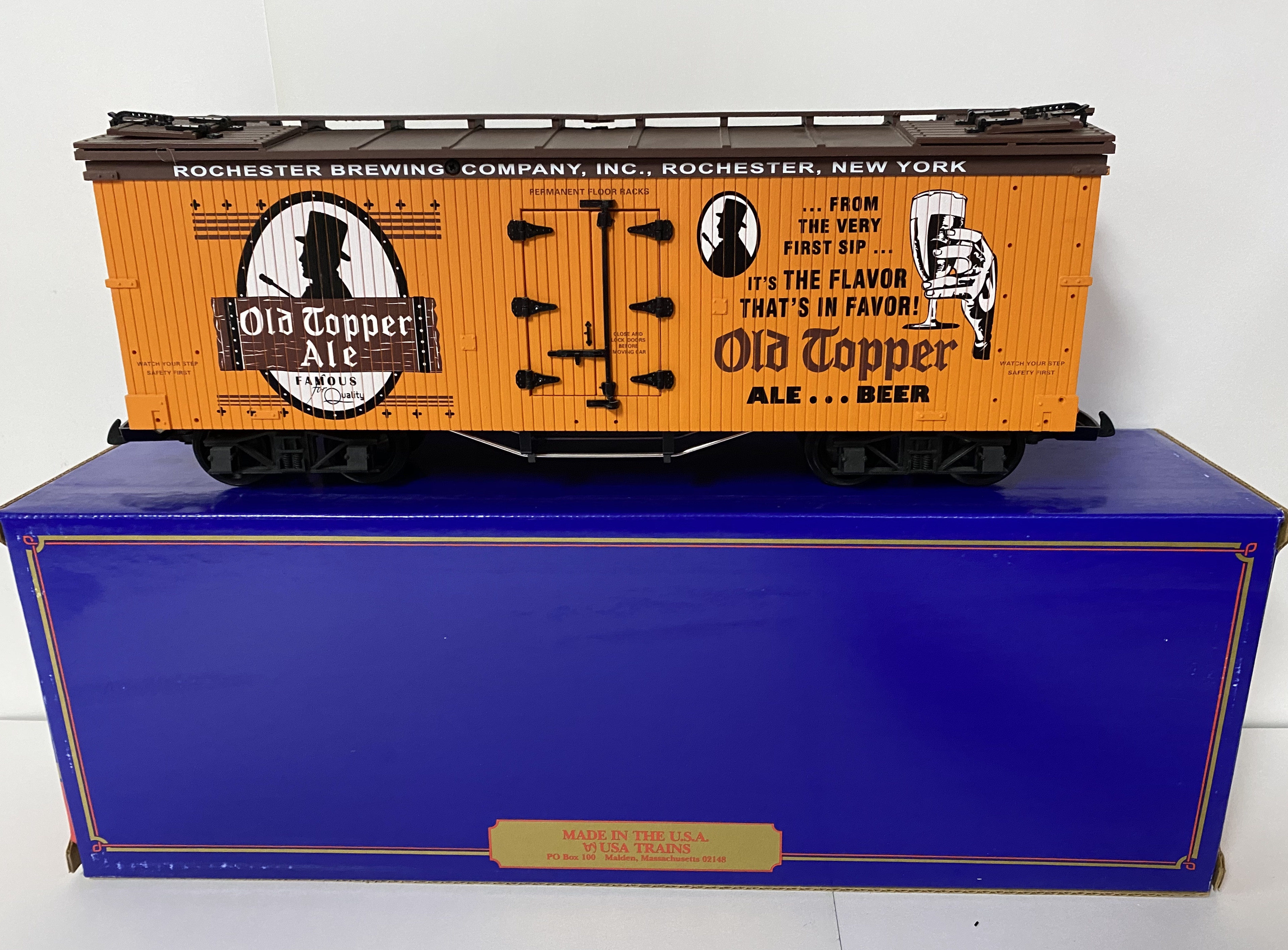 Old Topper Ale Reefer (USA Trains 16390)