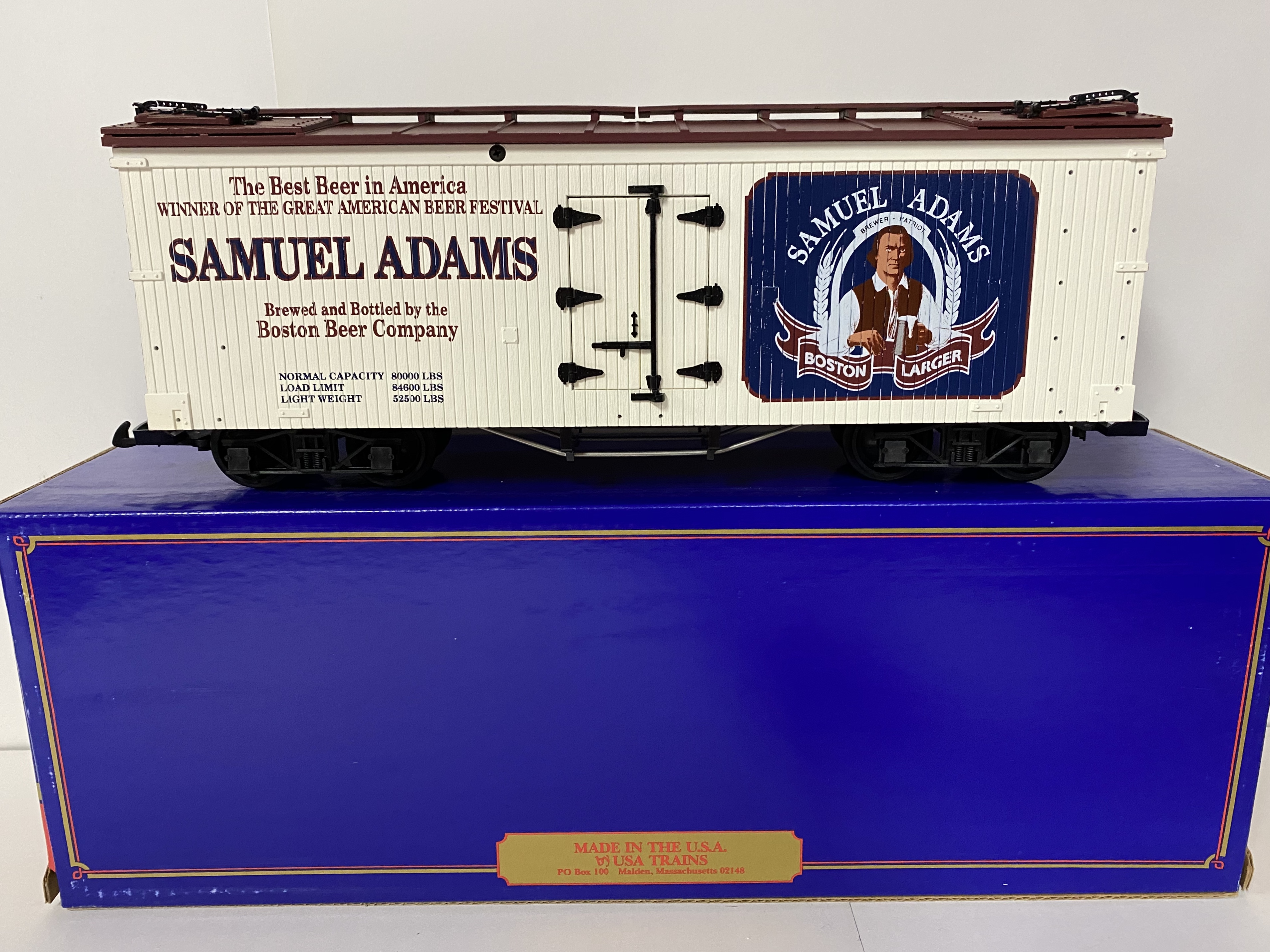Samual Adams Beer Reefer (USA Trains 1671)